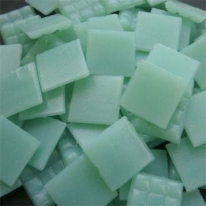 Lt Teal Green - Mosaic Glass Tiles 2cm x 2cm x 4mm (B55)