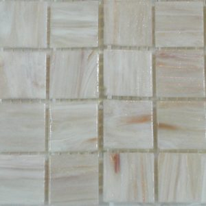 White VTC20.29(4) - Le Gemme Mosaic Glass Tiles