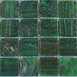 Dark Green VTC20.55(4) - Le Gemme Mosaic Glass Tiles