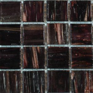 Deep Red Brown VTC20.51(4) - Le Gemme Mosaic Glass Tiles