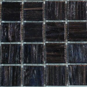 Varigated Black Purple VTC20.77(4) - Le Gemme Mosaic Glass Tiles
