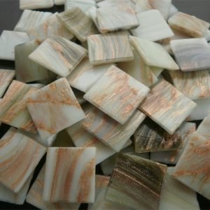 Marble - Mosaic Glass Tiles 2cm x 2cm x 4mm (G212)