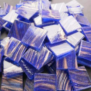Royal Blue - Mosaic Glass Tiles 2cm x 2cm x 4mm (G208)