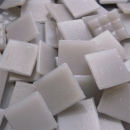 Mid Grey - Mosaic Glass Tiles 2cm x 2cm x 4mm (A57)