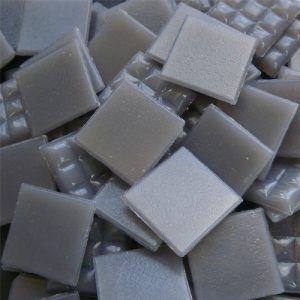 Grey - Mosaic Glass Tiles 2cm x 2cm x 4mm (A56)
