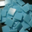 Baby Blue - Mosaic Glass Tiles 2cm x 2cm x 4mm (A53)