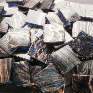 Dark Blue - Mosaic Glass Tiles 2cm x 2cm x 4mm (G206)