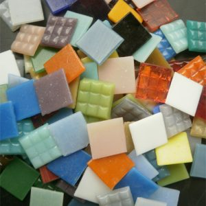 Mosaic Glass Tiles from Asia 2cm x 2cm
