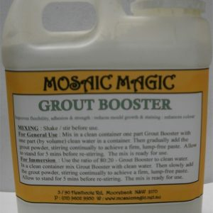 Mosaic Magic Grout Booster 1ltr