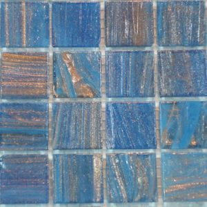 Blue Varigated VTC20.47(4) - Le Gemme Mosaic Glass Tiles