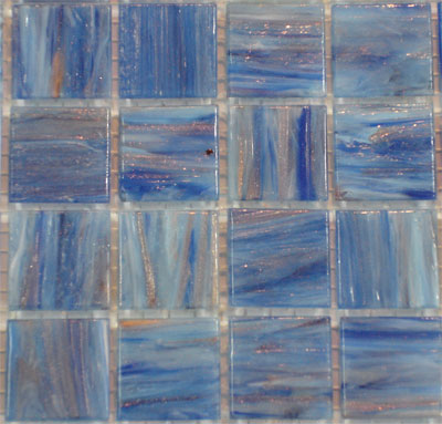 Stormy Blue Varigated VTC20.03(4) - Le Gemme Mosaic Glass Tiles