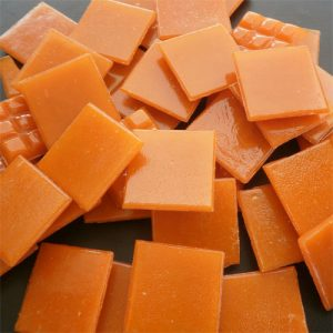 Orange - Mosaic Glass Tiles 2cm x 2cm x 4mm (D62)
