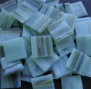 Bamboo Green - Mosaic Glass Tiles 2cm x 2cm x 4mm (E632)