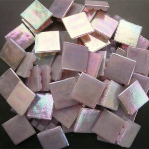 Mosaic Glass tiles from Asia 1.5cm x 1.5cm - Lilac (P312)