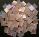 Mosaic Glass tiles from Asia 1.5cm x 1.5cm - Pale Pink (P308)