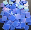 Mosaic Glass tiles from Asia 1.5cm x 1.5cm - Blue (P307)