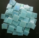 Mosaic Glass tiles from Asia 1.5cm x 1.5cm - Pale Blue (P305)