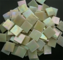 Mosaic Glass tiles from Asia 1.5cm x 1.5cm - Cream (P302)
