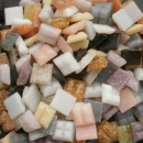 Mosaic Glass tiles from Asia 1cm x 1cm - Neutral