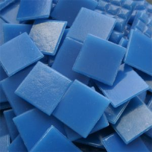 Blue - Mosaic Glass Tiles 2cm x 2cm x 4mm (B01)