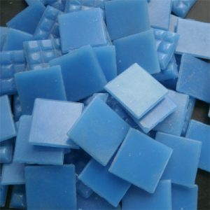 Blue - Mosaic Glass Tiles 2cm x 2cm x 4mm (B30)