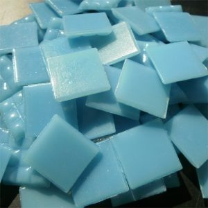 Blue - Mosaic Glass Tiles 2cm x 2cm x 4mm (A08)