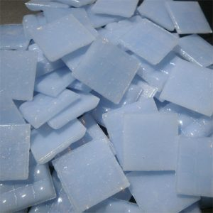 Periwinkle Light - Mosaic Glass Tiles 2cm x 2cm x 4mm (A35)
