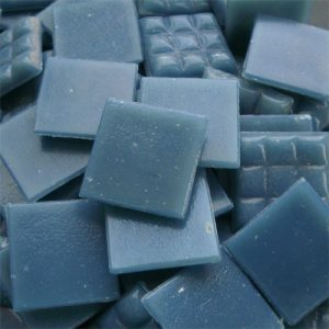 Blue Grey - Mosaic Glass Tiles 2cm x 2cm x 4mm (C02)
