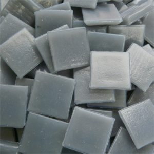Dark Grey - Mosaic Glass Tiles 2cm x 2cm x 4mm (B04)
