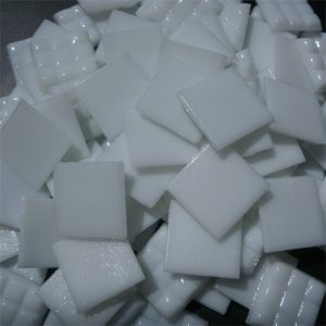 White - Mosaic Glass Tiles 2cm x 2cm x 4mm (A20)