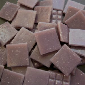 Lilac - Mosaic Glass Tiles 2cm x 2cm x 4mm (B91)