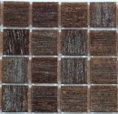 Dark Brown (VTC 20.16) - Vetricolour Mosaic Glass Tiles (VTC 20.16)