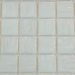 White SM01 - Smalto Mosaic Glass Tiles (SM 01)
