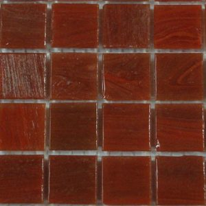 Outback Dusty Red SM17 - Smalto Mosaic Glass Tiles (SM 17)